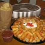 Our New Chicken Taquitos Platter!